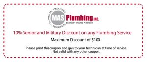 plumbing coupon offer
